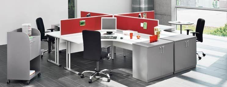 פתרונות חציצה מקולקציית Easy Space , בצבעוניות אורבנית מדליקה.